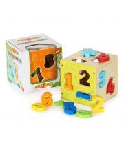 Развивающая игрушка Логический куб Цифры