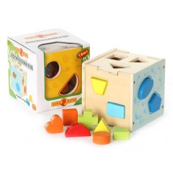 Развивающая игрушка Логический куб