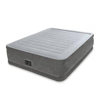 Спорт и отдых, Надувной матрас Comfort-Plush Mid Rise Airbed Intex (серый)682464, фото