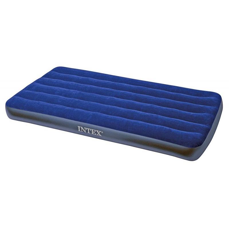 Intex Надувной матрас Classic Downy Bed надувной матрас camping mats 127х193х24см intex