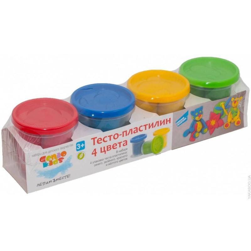 Пластилин 4 цвета