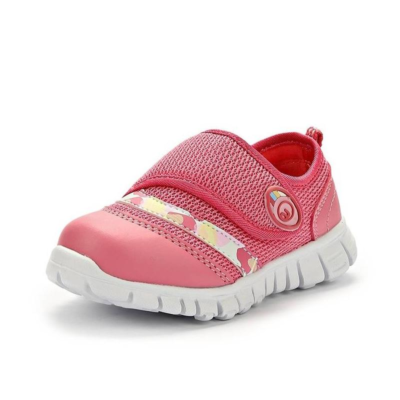 ТуфлиДетские дышащие туфли бренда Антилопа розового цвета.Верх выполнен из дышащего текстиля. Технологичная подошва, текстильная подкладка и стелька, застежка-липучка. Плотные вставки в передней и задней частях.<br><br>Размер: 23<br>Цвет: Розовый<br>Пол: Для девочки<br>Артикул: 000215<br>Страна производитель: Китай<br>Сезон: Весна/Лето<br>Материал верха: Текстиль / Иск. кожа<br>Материал подкладки: Текстиль<br>Материал стельки: Текстиль<br>Материал подошвы: ТЭП (термопластик)<br>Коллекция: Весна/Лето 2014