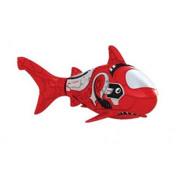 Игрушки, Роборыбка Акула ZURU (красный)698013, фото