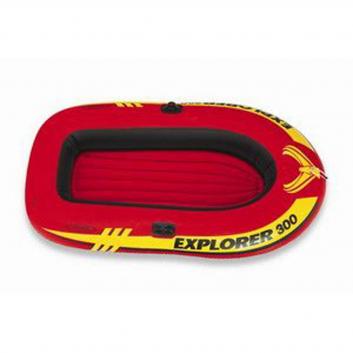Спорт и отдых, Надувная лодка Explorer-300 Intex (красный), фото