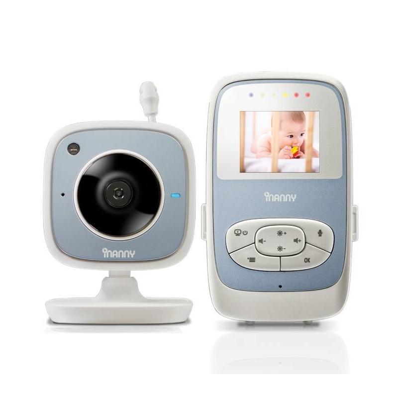 """Цифровая видеоняня с LCD дисплеем 1,8""""Цифровая видеоняня с LCD дисплеем 1,8""""маркиiNanny.<br>Характеристики:<br>- Жидкокристаллический дисплей 1,8"""";- Заряда батарейки хватает на 12 часов непрерывной работы;- Световой индикатор уровня шума;- Двусторонняя связь;- Высокое качество видеоизображения, втом числе и при ночном режиме;- 5 колыбельных мелодий;- Возможно подключить одновременно 4 камеры;- Радиус действия 250 метров.<br><br>Возраст от: 0 месяцев<br>Пол: Не указан<br>Артикул: 695301<br>Бренд: США<br>Размер: Без размера"""
