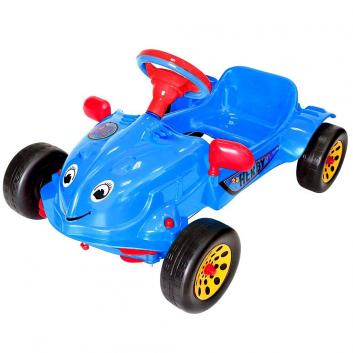 Спорт и отдых, Машина педальная Herby RT (синий)650861, фото