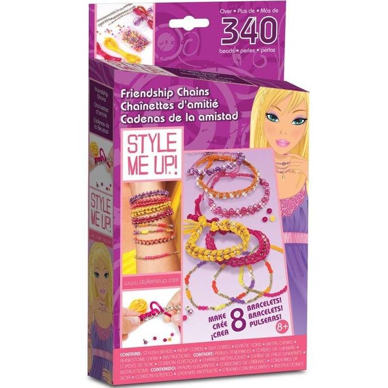 Style me up! Набор для творчества Браслетики для подружек наборы для творчества wooky style me up браслетики для подружек