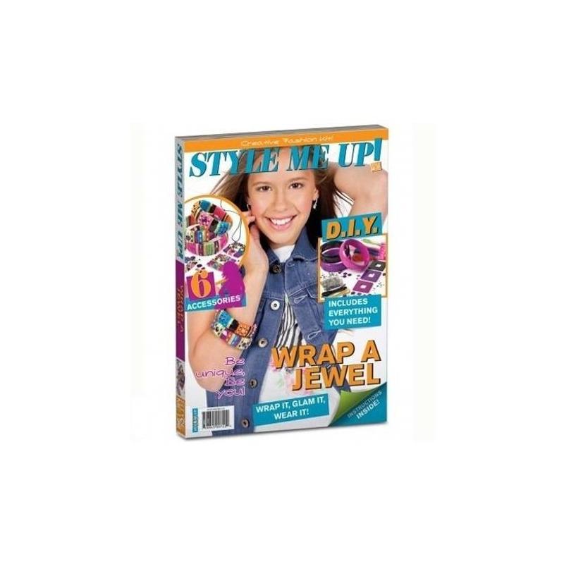 Style me up! Набор для творчества Модные украшения faux pearl decor glitter combination bag 3pcs