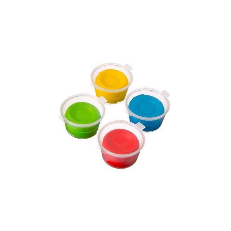 Тесто для лепки 4 цвета Тесто из Детства