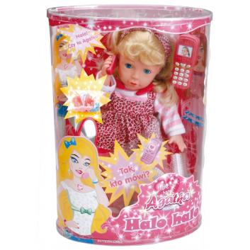 Игрушки, Кукла с телефончиком Agatka 690225, фото
