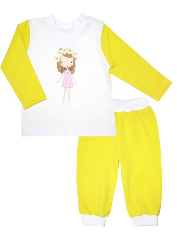 Пижама КотМарКот (желтый)