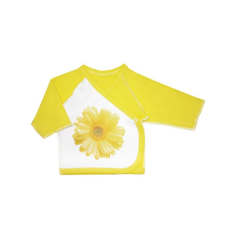 РаспашонкаРаспашонка желтогоцвета из коллекции Ромашка марки КотМарКот для девочек.<br>Распашонка с длинным рукавом выполненаиз хлопкового трикотажа. Модель выгодно подчеркнута вставками белого цвета, а также украшена блестками и принтом с изображением цветка. Распашонка дополнена кнопкой для удобства переодевания малышки.<br>Модельдля возрастов 1, 2 и 3 месяца сшита швами наружу, чтобы не натирать нежную кожу ребенка.<br><br>Размер: 3 месяца<br>Цвет: Желтый<br>Рост: 62<br>Пол: Для девочки<br>Артикул: 699353<br>Страна производитель: Россия<br>Сезон: Всесезонный<br>Состав: 100% Хлопок<br>Бренд: Россия<br>Вид застежки: Кнопки