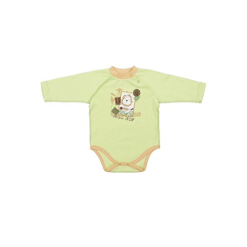 БодиБоди салатового цвета марки КотМарКот для мальчиков.<br>Боди выполнено из натурального хлопка и украшено изображением спортивного львенка. Модель с длинным рукавомзастегивается на кнопки для удобства переодевания малыша.<br>Бодидля возрастов 2 и 3 месяца сшито швами наружу, чтобы не натирать нежную кожу ребенка.<br><br>Размер: 3 месяца<br>Цвет: Салатовый<br>Рост: 62<br>Пол: Для мальчика<br>Артикул: 699462<br>Страна производитель: Россия<br>Сезон: Всесезонный<br>Состав: 100% Хлопок<br>Бренд: Россия<br>Вид застежки: Кнопки