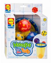 Игрушки для ванны Мячики в сетке