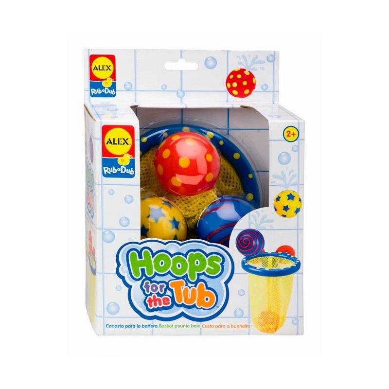 Игрушка для ванны Мячики в сетке