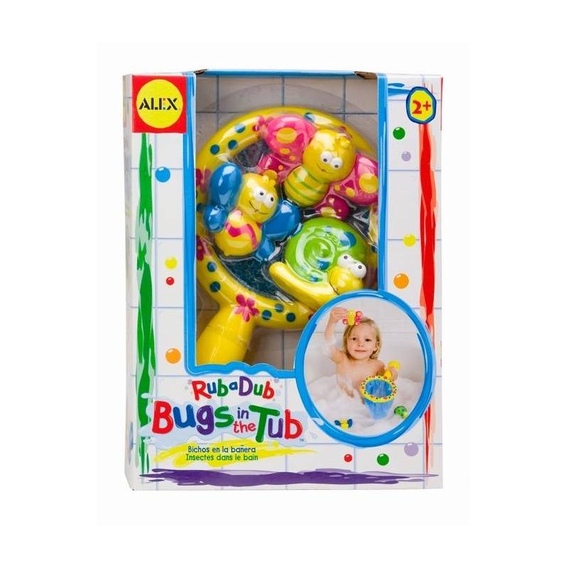 ALEX Игрушка для ванны Поймай бабочку alex alex посуда игрушечная chasing butterflies ceramic tea set поймай бабочку 13 предметов