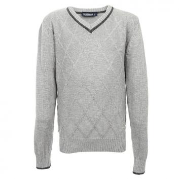 Мальчики, Пуловер Luminoso (серый), фото