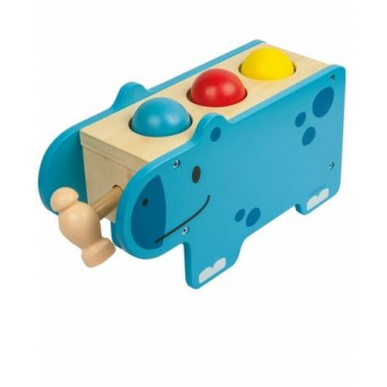 Игрушки, Развивающая игрушка Веселый бегемотик Beleduc 657205, фото