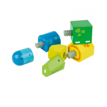 Игрушки, Развивающая игрушка Винтики-друзья Beleduc 657208, фото