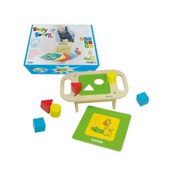 Развивающая игрушка Столик-сортер