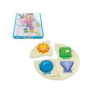 Игрушки, Развивающая игрушка Забавная четверка Beleduc 657206, фото