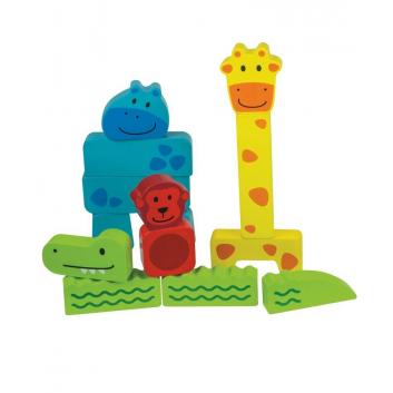 Игрушки, Развивающая игрушка Зоопарк Beleduc 657209, фото