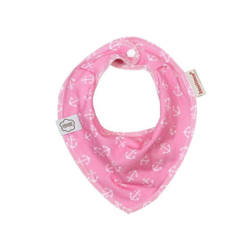 ImseVimse Нагрудник Bandana Pink Anchor
