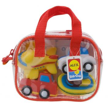 Игрушки, Игрушки для ванны Транспорт ALEX 698047, фото