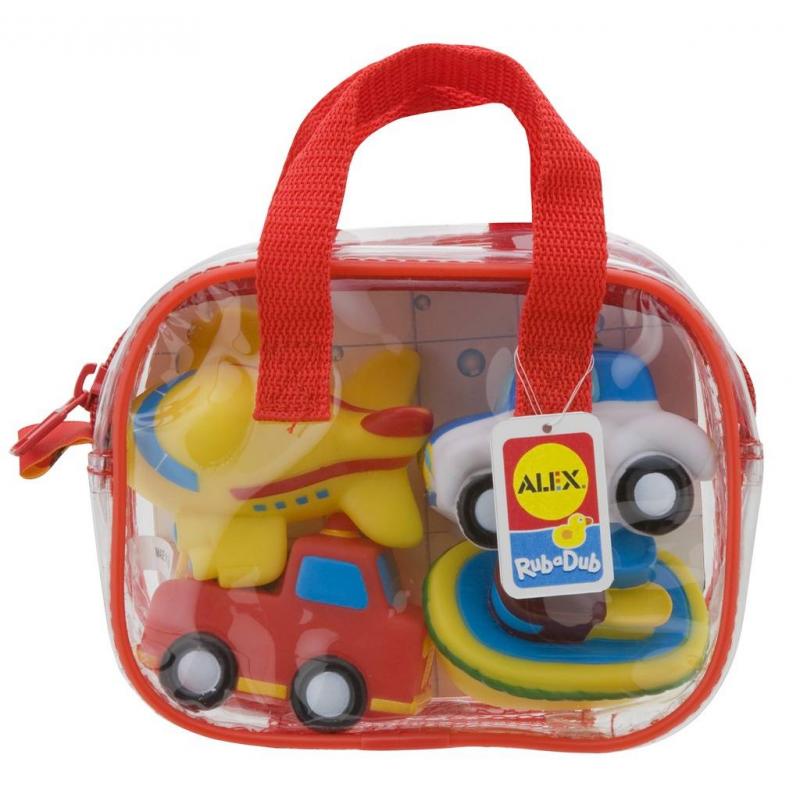 ALEX Игрушки для ванны Транспорт