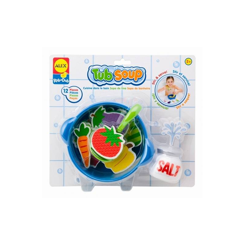 ALEX Игрушка для ванны Приготовь суп