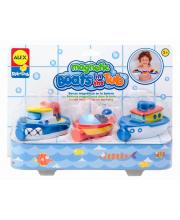 Игрушки для ванны Магнитные лодочки