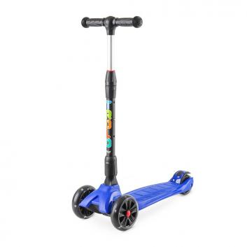 Спорт и отдых, Самокат Rapid со светящимися колесами Trolo (синий)677345, фото