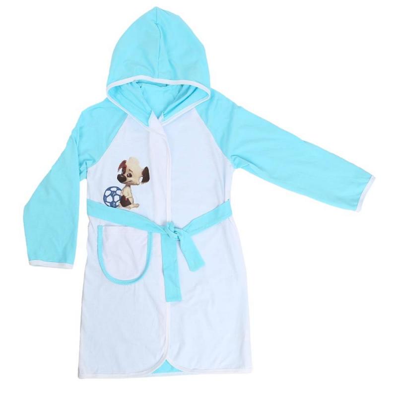 КотМарКот Халат куртка голубого цвета brums ут 00008775