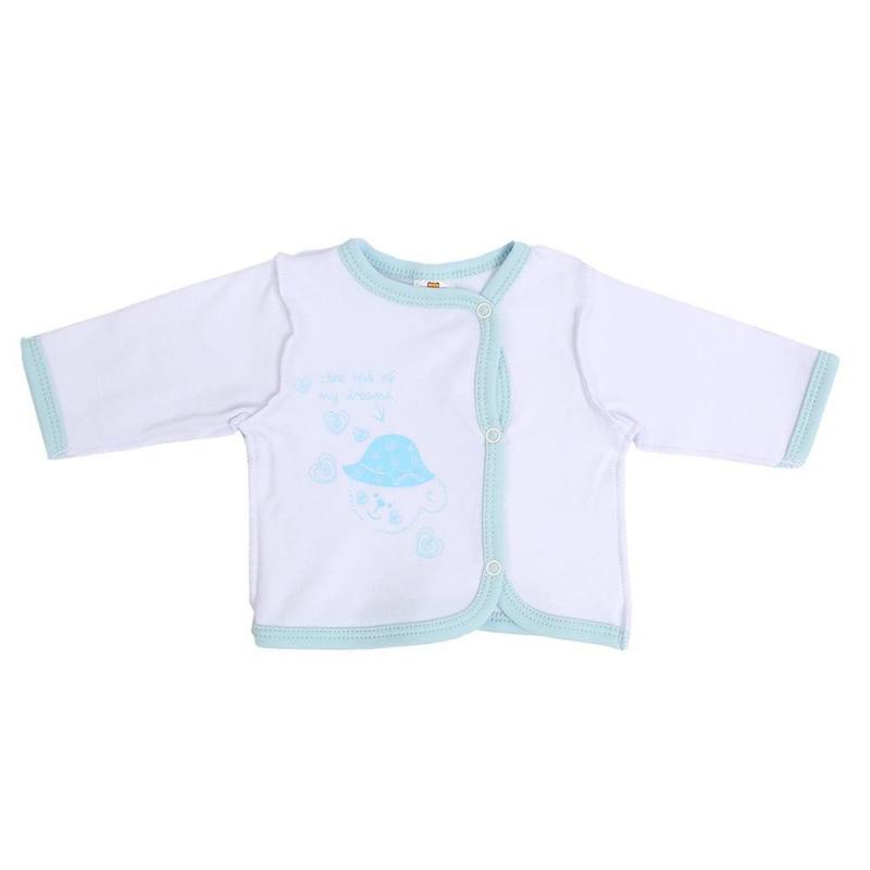 КотМарКот Кофточка одеяло голубого цвета brums ут 00011819
