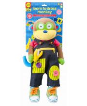 Игрушка Учимся одеваться с обезьянкой