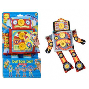 Игрушки, Развивающая игрушка Робот Пуговка ALEX 698060, фото