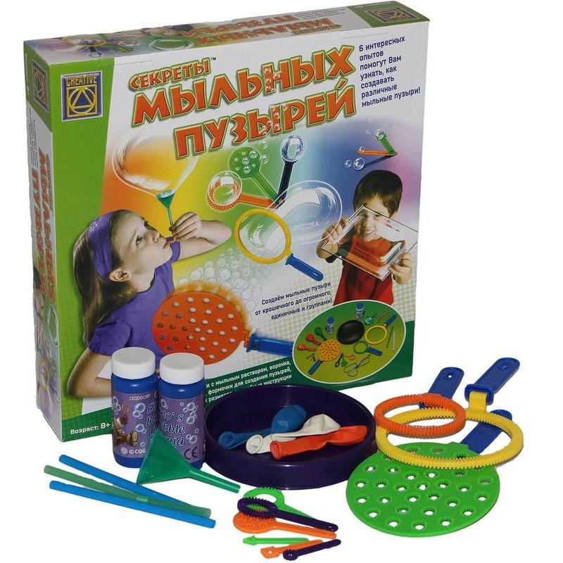 CREATIVE Набор для творчества Секреты мыльных пузырей creative набор для творчества украшаем чайный сервиз