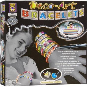 Творчество, Набор для творчества Браслеты арт-деко CREATIVE 658901, фото