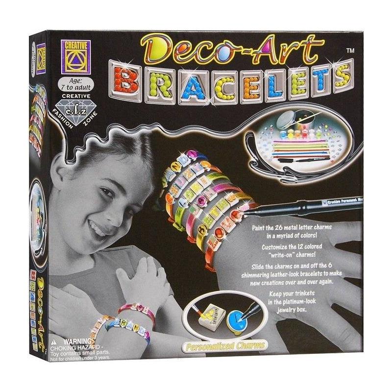 CREATIVE Набор для творчества Браслеты арт-деко набор для творчества creative кондитерская