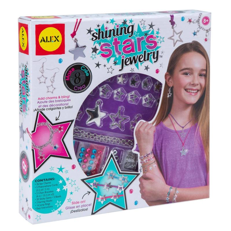 ALEX Набор для создания ювелирных изделий Сияющая звезда