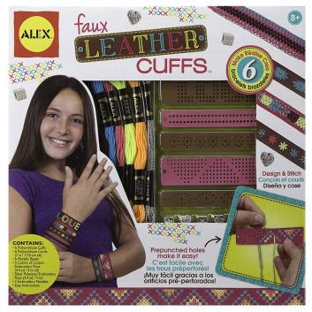 Набор для создания кожаных браслетов-манжеток