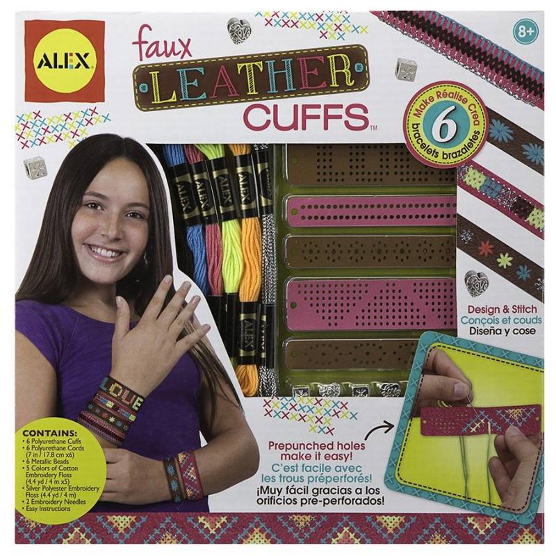 ALEX Набор для создания кожаных браслетов-манжеток