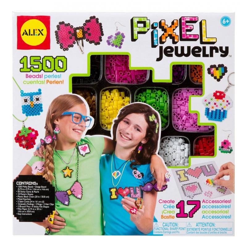 ALEX Набор для создания браслетов Пиксели
