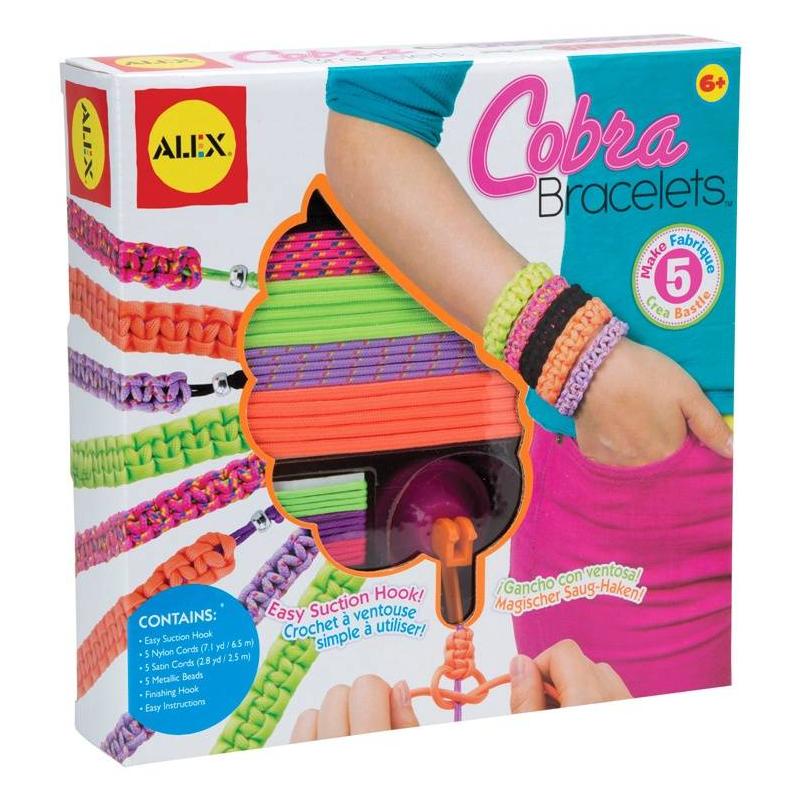 ALEX Набор для создания браслетов Кобра