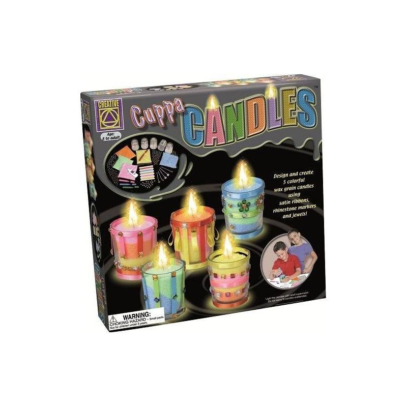 CREATIVE Набор для творчества Дизайнерские свечи Стаканчики набор для творчества creative creative набор для творчества дизайнерские свечи стаканчики