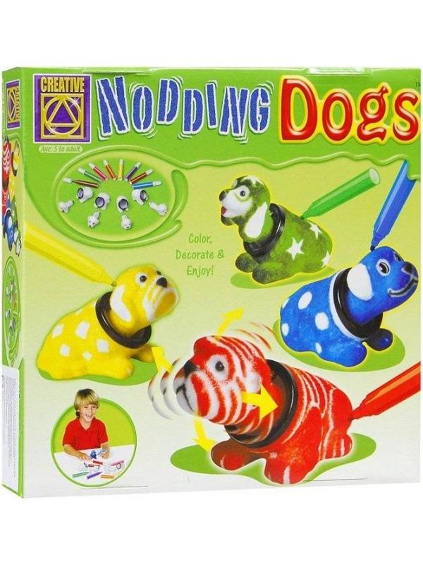 Набор для творчества Разукрась кивающих собачек CREATIVE