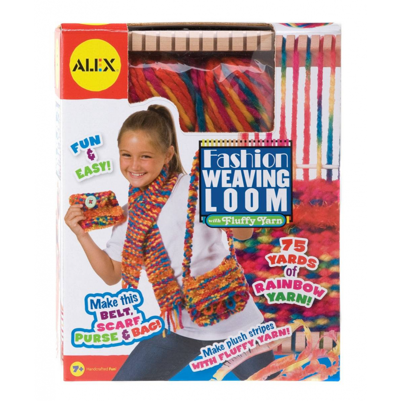 Подробнее о ALEX Набор для творчества Ткацкий станок alex ткацкий станок