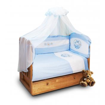 Малыши, Комплект постельного белья 7 предметов Sonia Kids (голубой)607199, фото