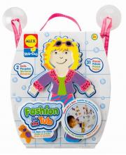 Набор фигурок стикеров для ванны Одень куклу ALEX