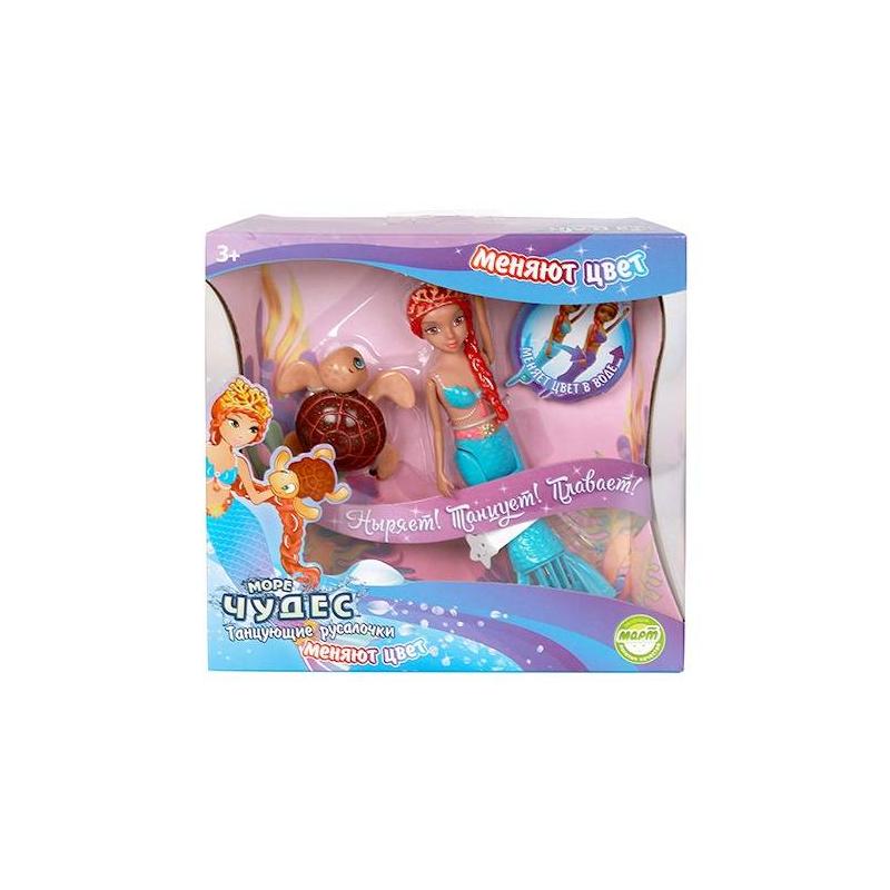 Redwood Игрушка для ванны меняющая цвет Русалочка Амелия море чудес русалочка танцующая амелия меняющая цвет